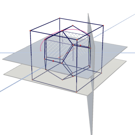 Greatest regular Dodecahedron inside an Cube(method2)_html