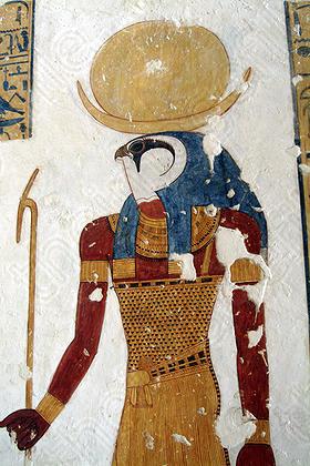 khonsu falcon headed egyptian gods